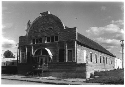 1984 Northwest Elevation of Roosevelt Hall