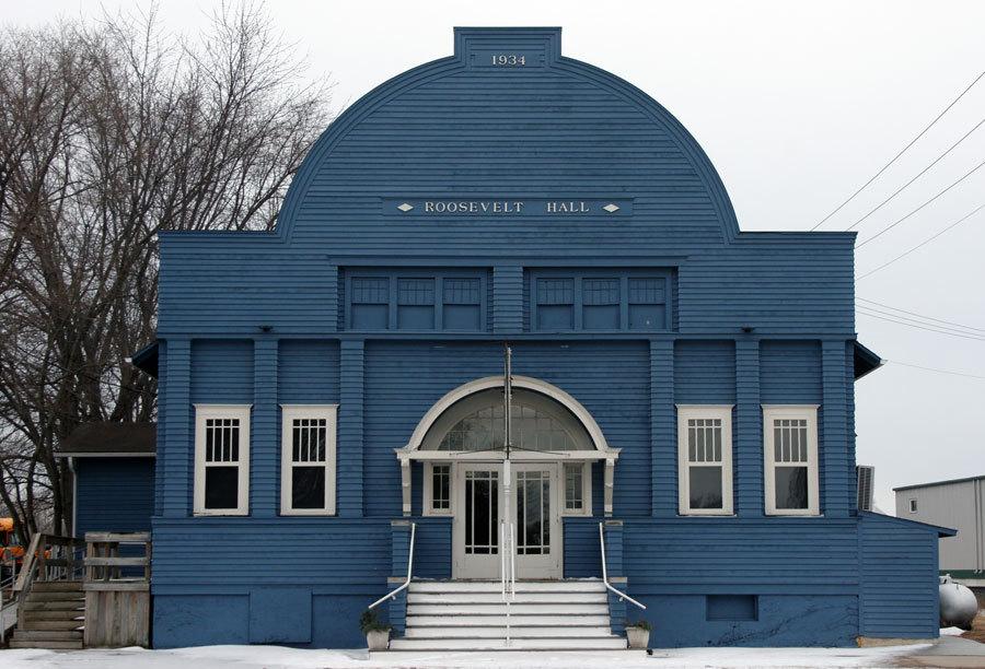 Current Roosevelt Hall Front Elevation