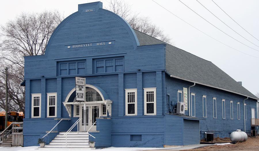 Current Roosevelt Hall Northwest Elevation